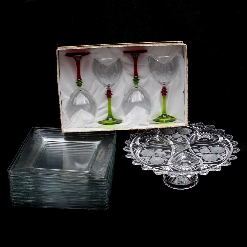 Glass Tableware and Stemware
