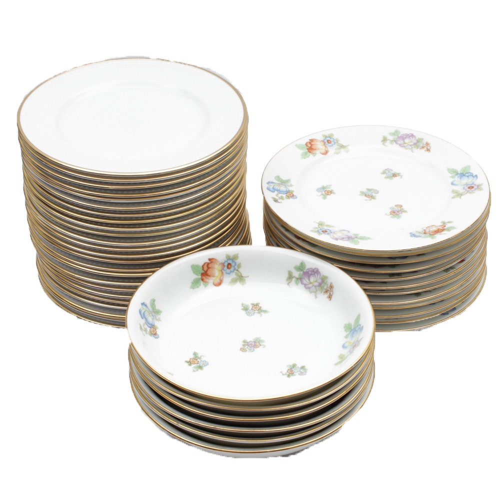 Eclectic Dinnerware Collection Including Espiag