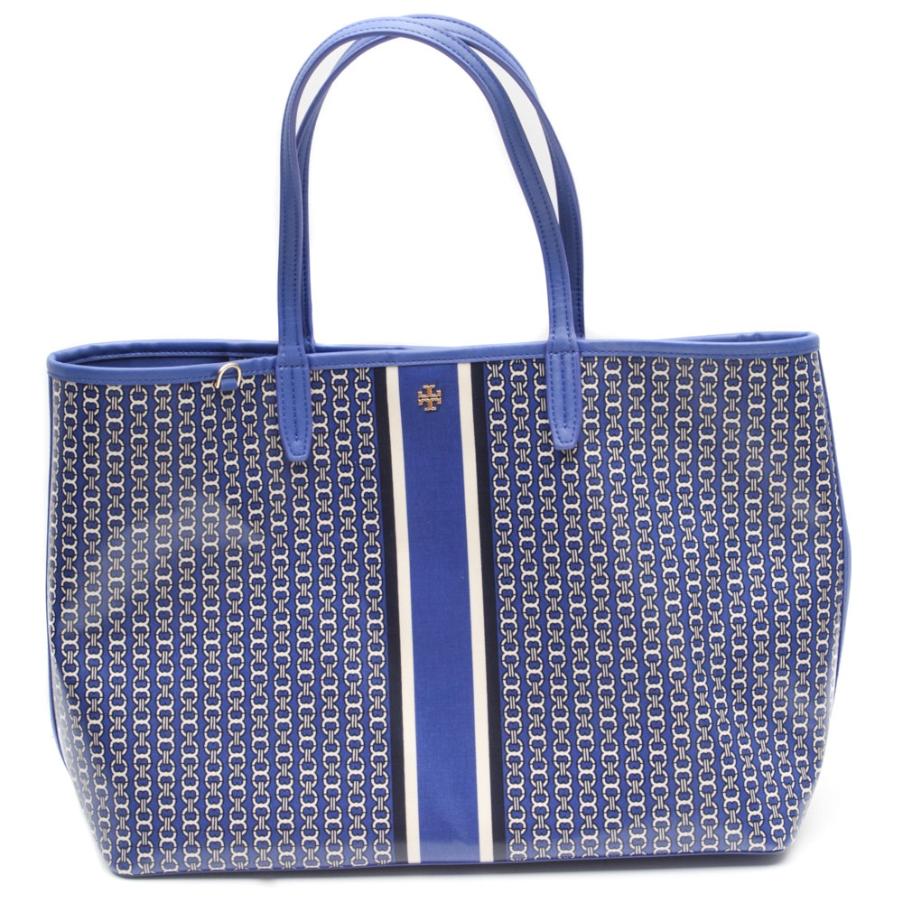 Tory Burch Coated Canvas Tote
