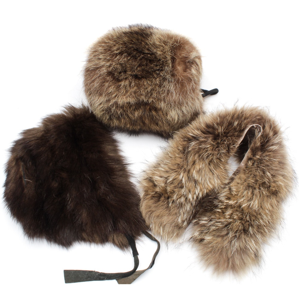 Raccoon Fur Accessories