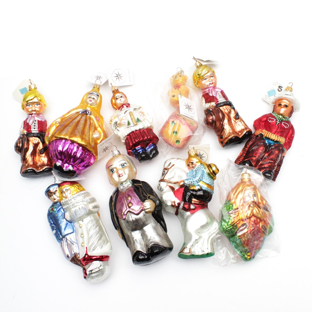 Christopher Radko Hand-Decorated Christmas Ornaments