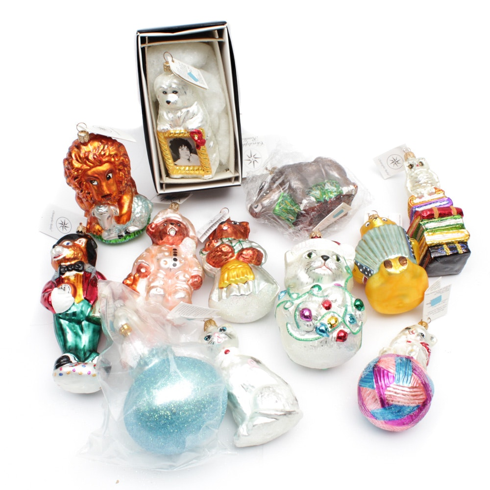 Christopher Radko Animal Themed Ornaments