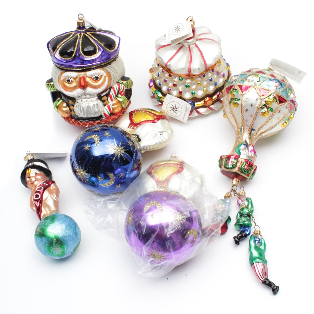 Christopher Radko Large Christmas Ornaments