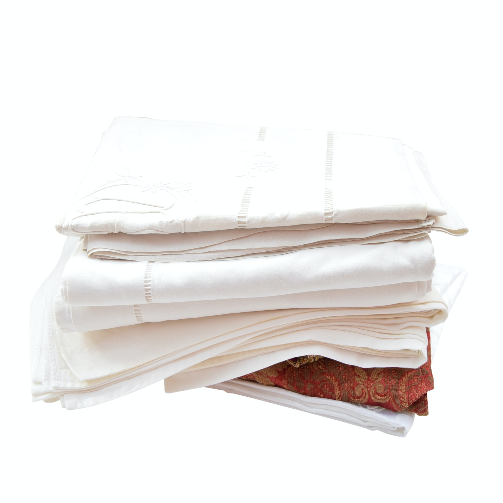 Vintage Linen Sheets and Tablecloths
