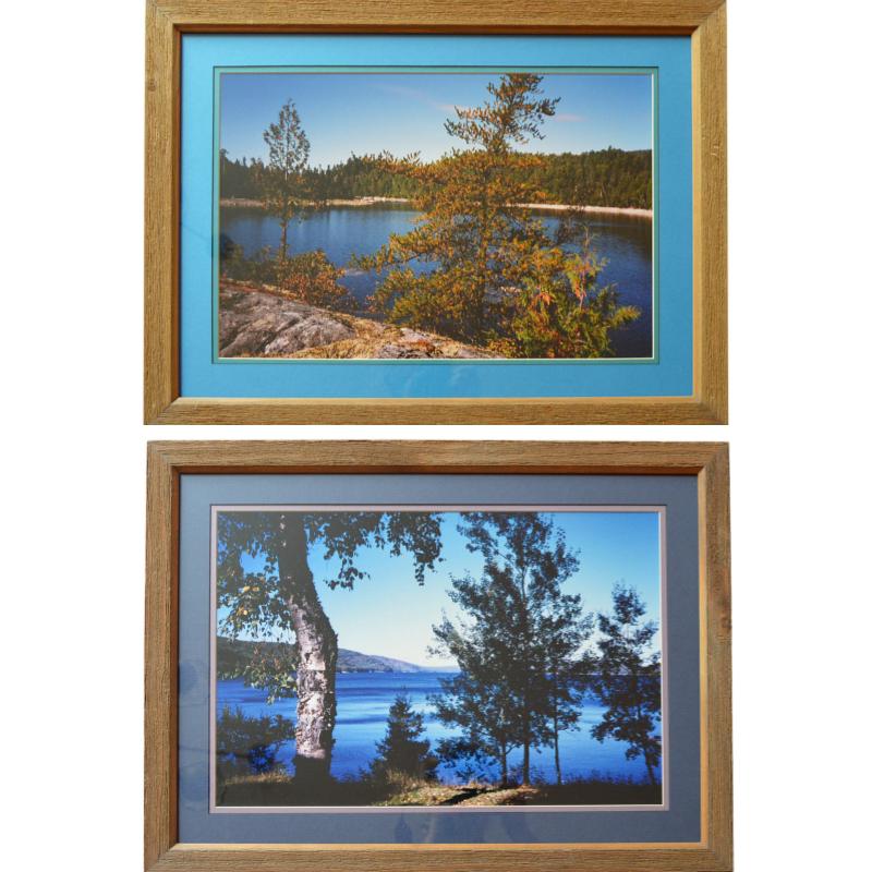 Pair of Color Landscape Photographs