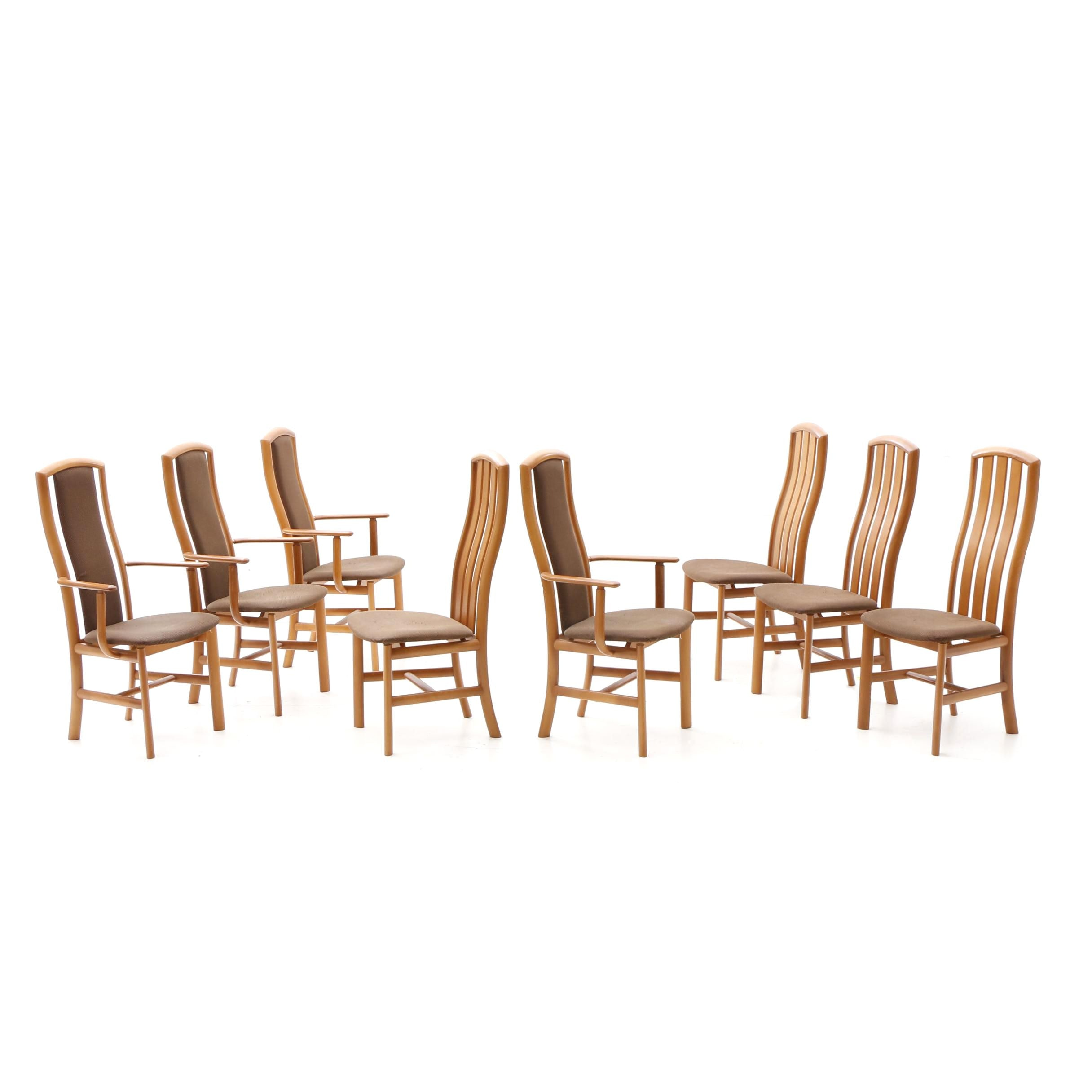 "Eight Skovby ""Kirsebaer"" Danish Modern Dining Chairs"