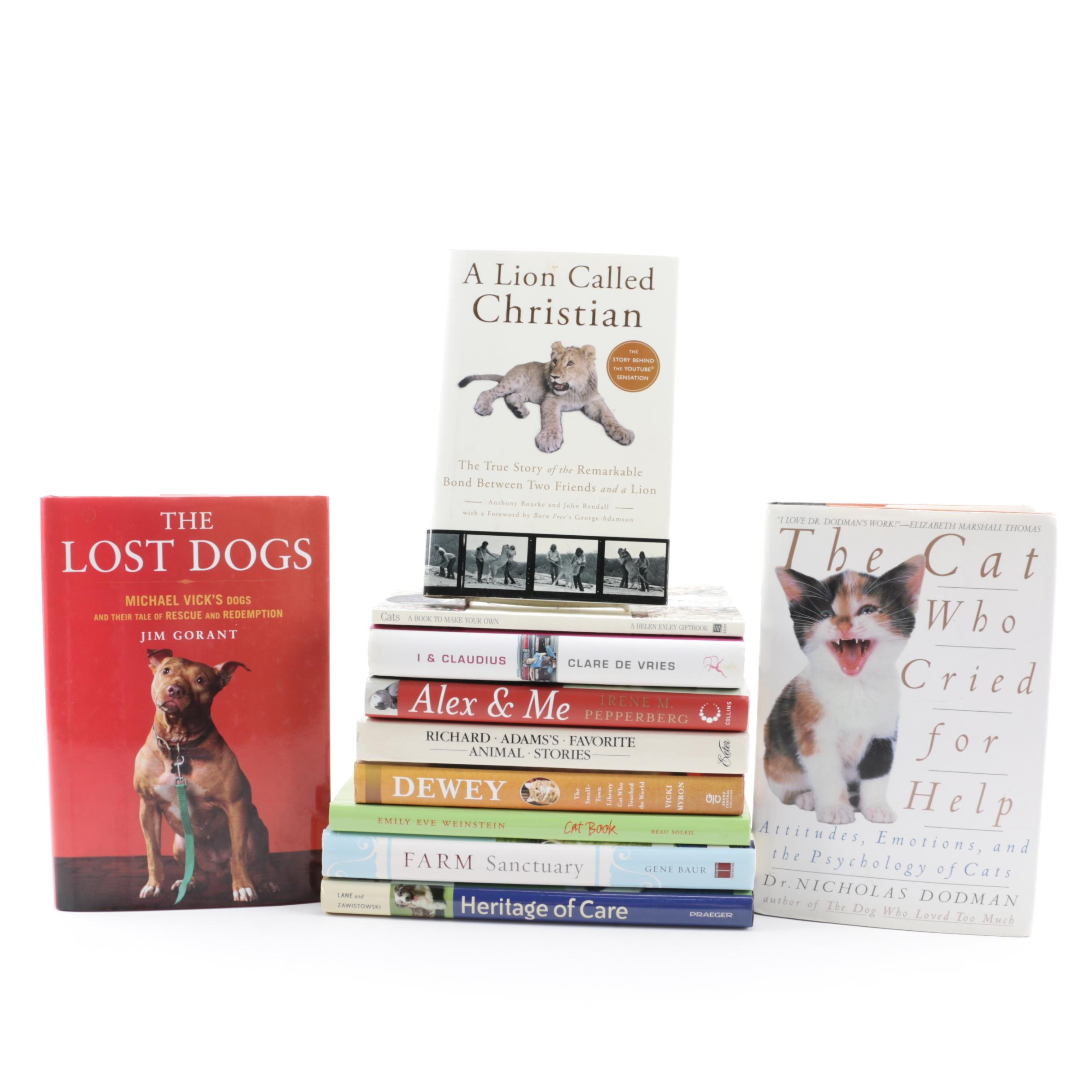 Books on Cats, Dogs and Other Pets