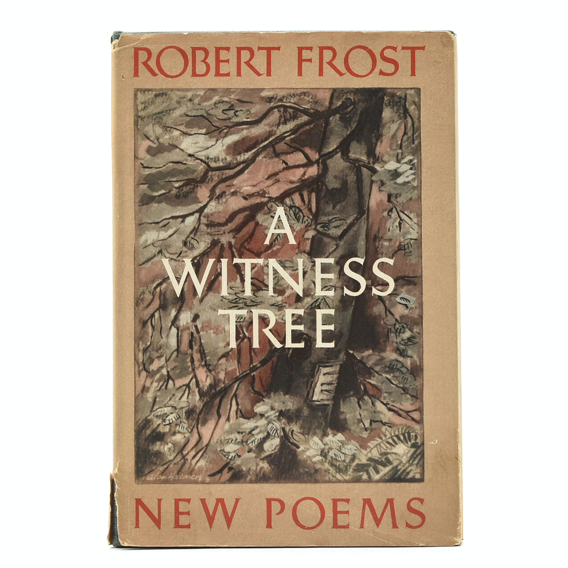 """1942 Signed First Printing """"A Witness Tree"""" by Robert Frost"""