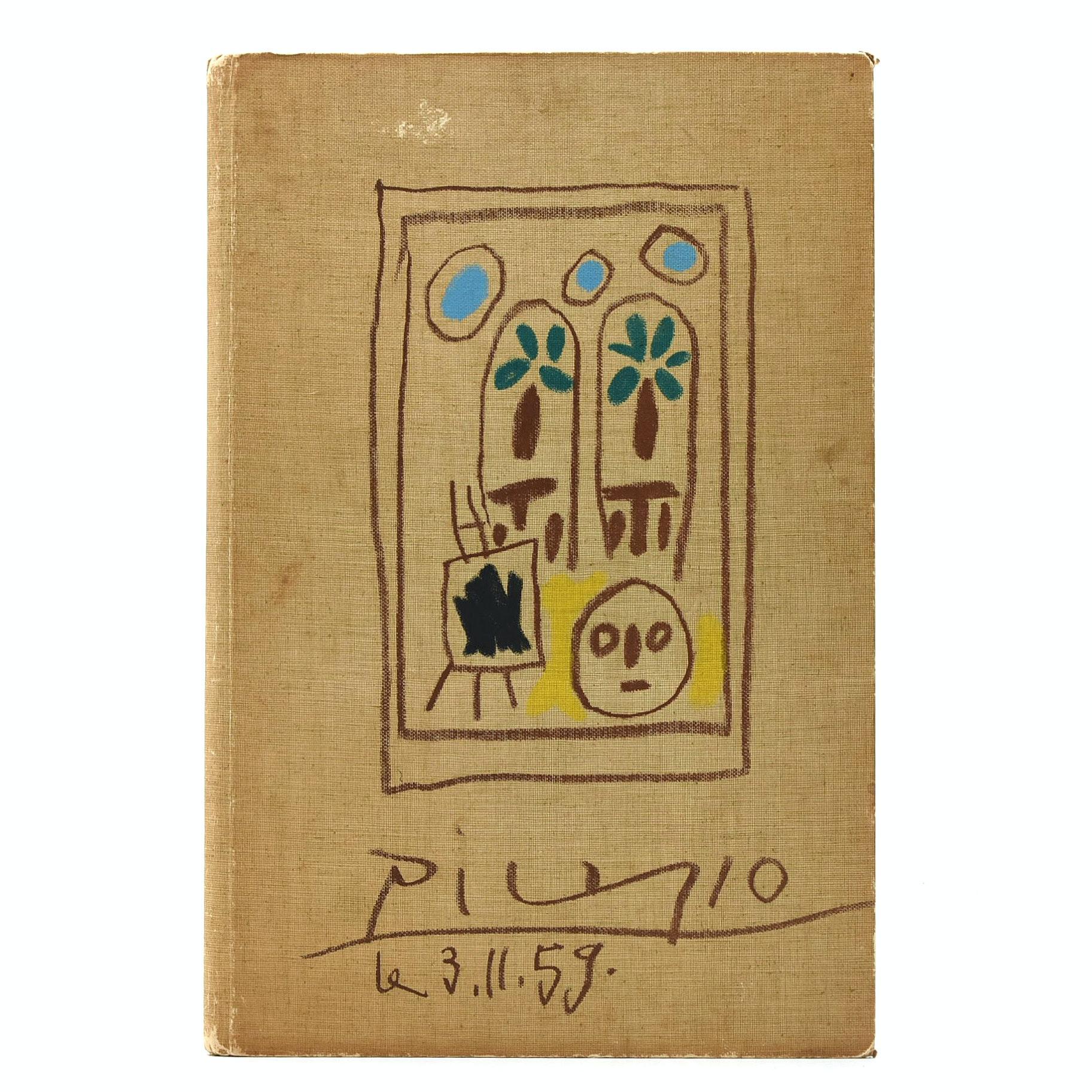 """1960 Limited Edition """"Picasso's Sketchbook, 1955 - 1956 Carnet de la Californie"""""""
