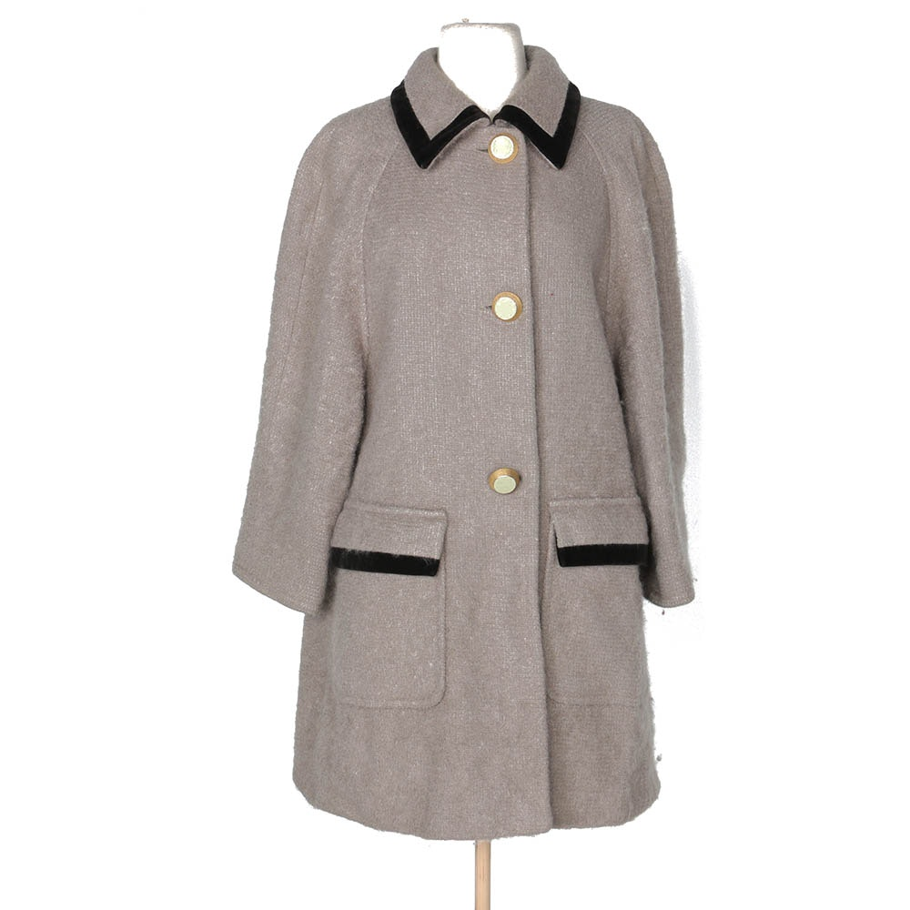 Women's Vintage Abitale Italian Made Wool Coat