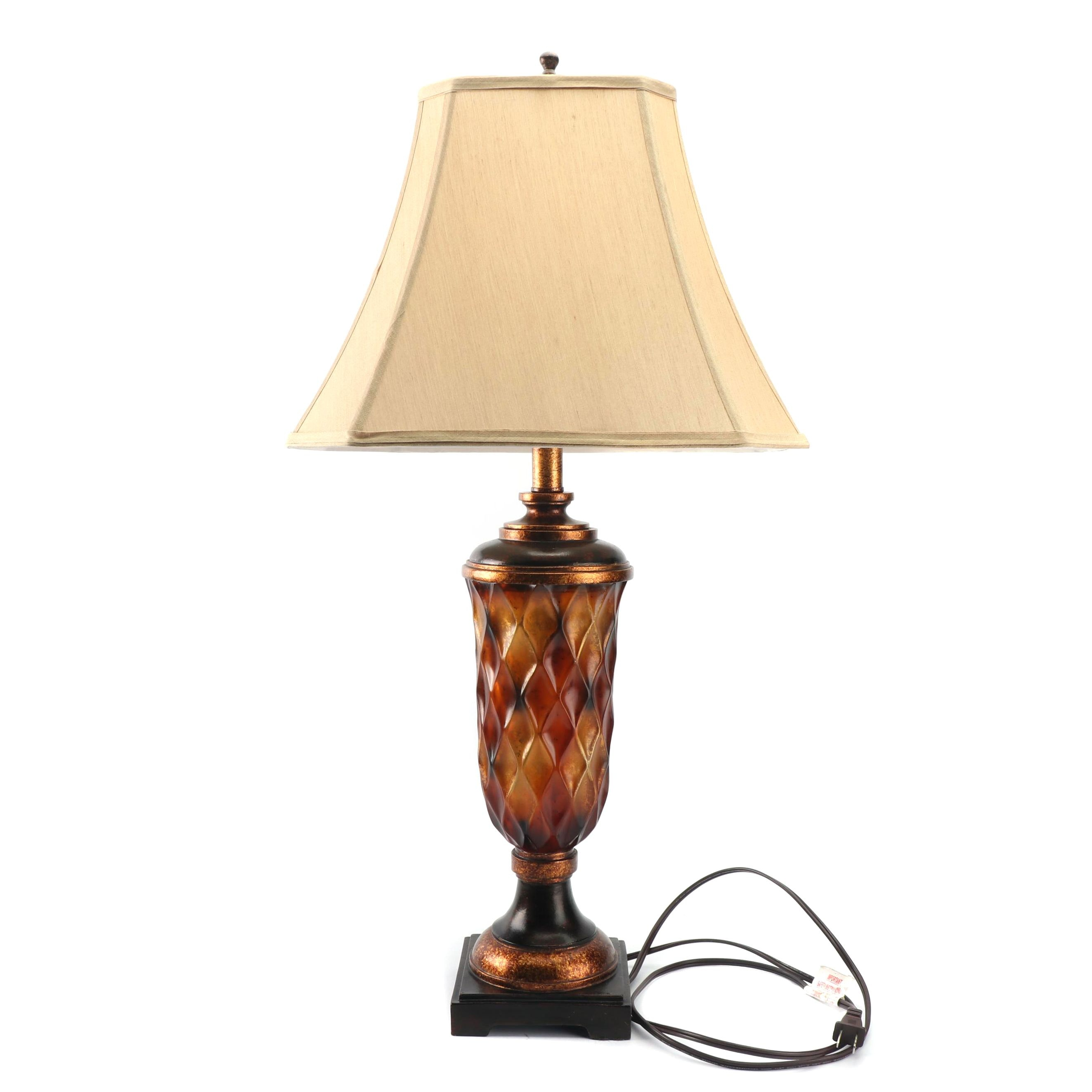 Neoclassical Style Urn Shaped Table Lamp