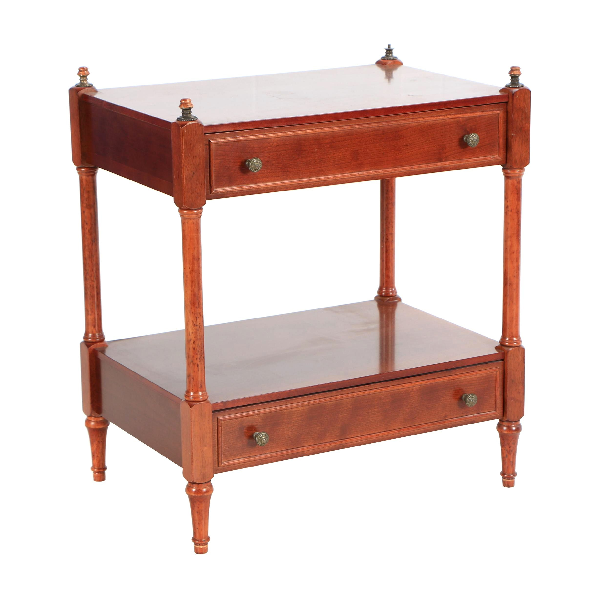 The Bombay Company Stained Wood Console Table