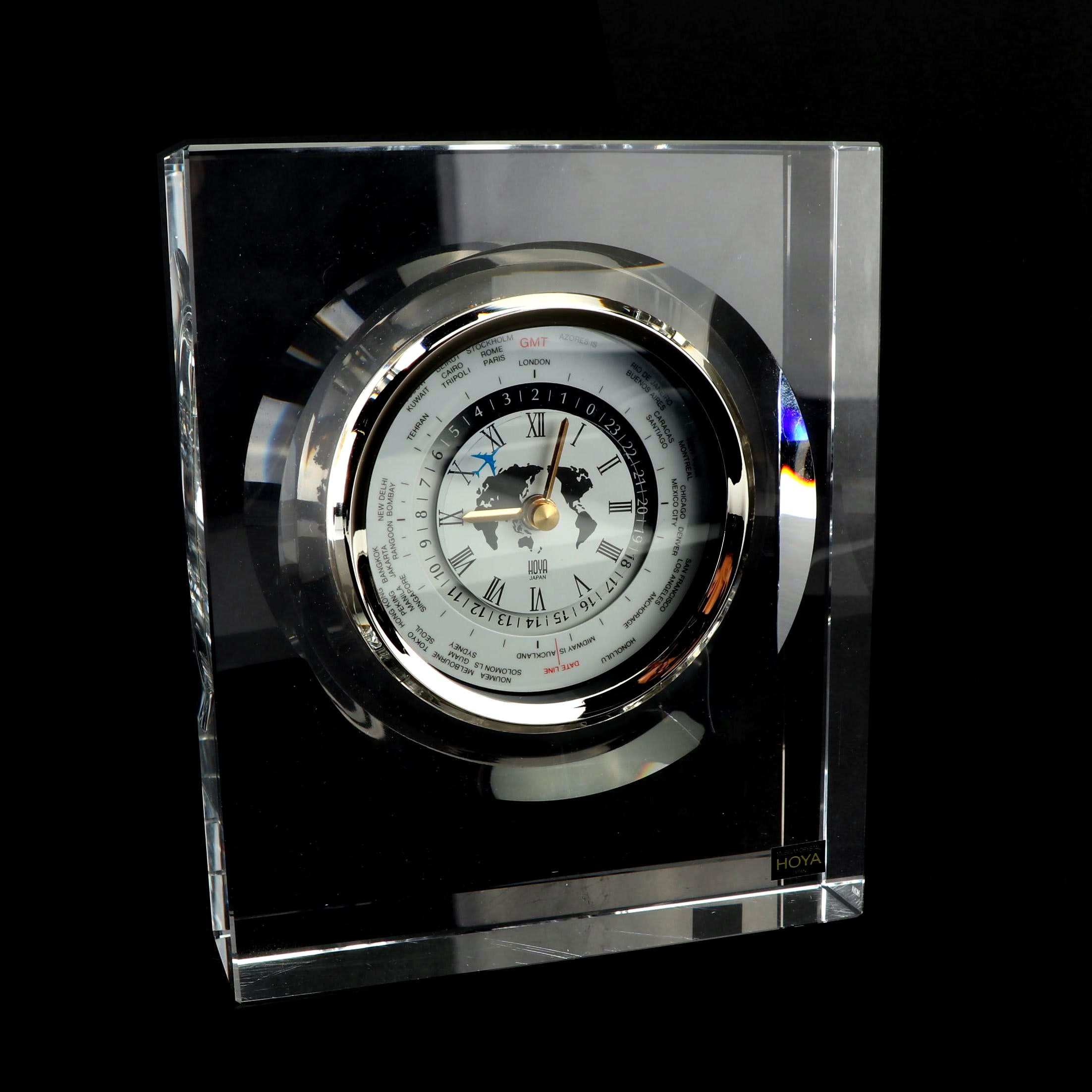 HOYA Crystal World Clock
