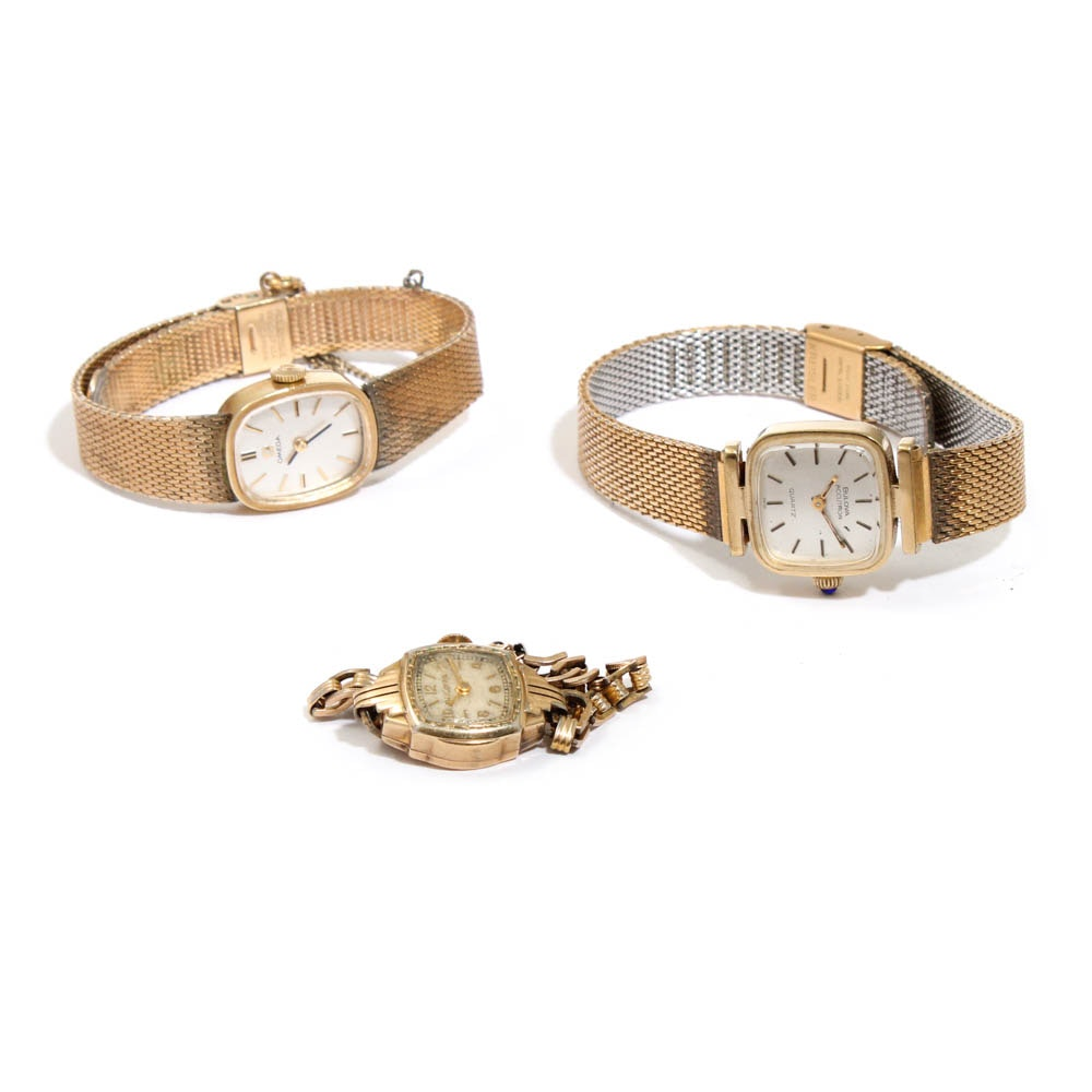 Bulova and Omega Wristwatches