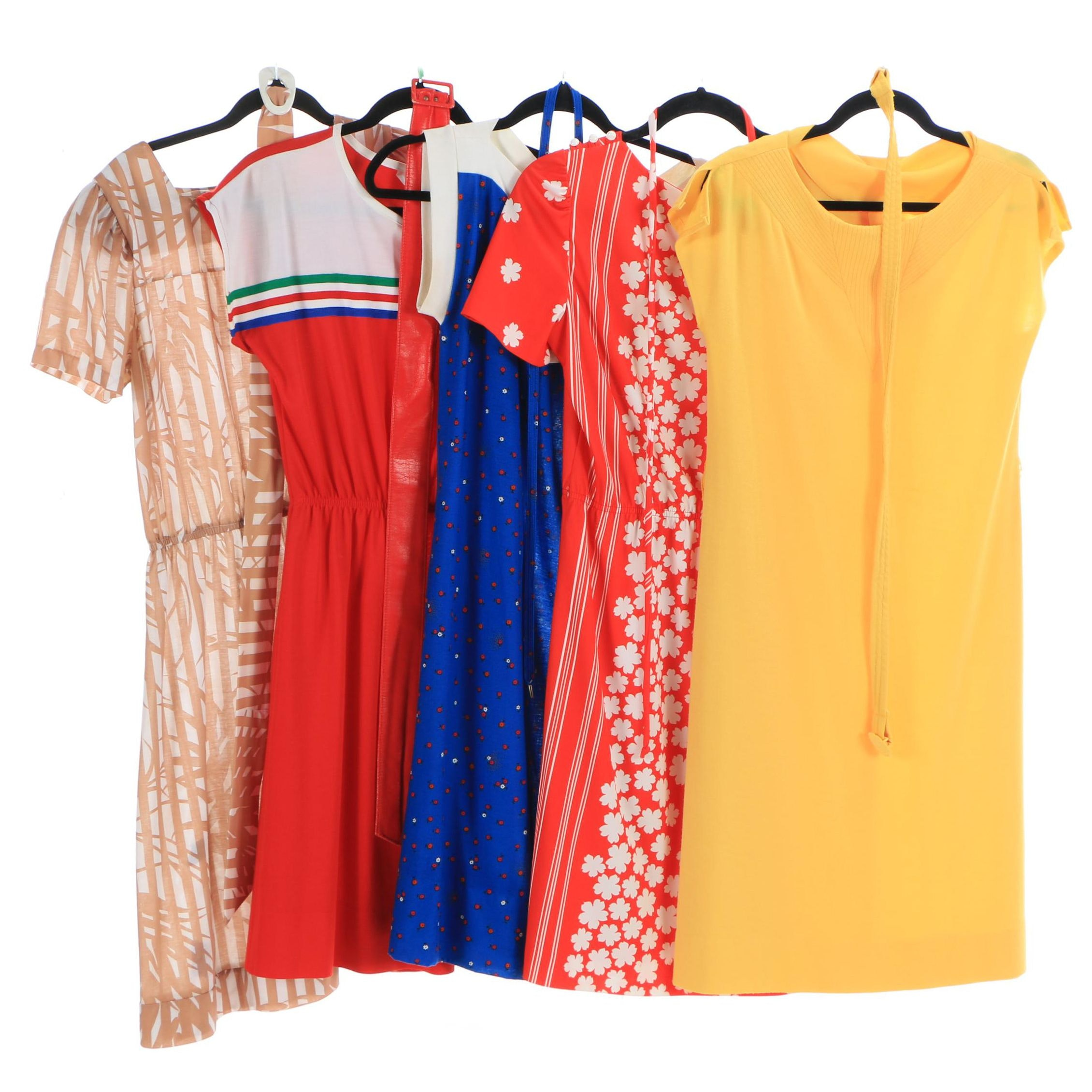 Women's Vintage Dresses Including Mari Lynn, Komar and Messages