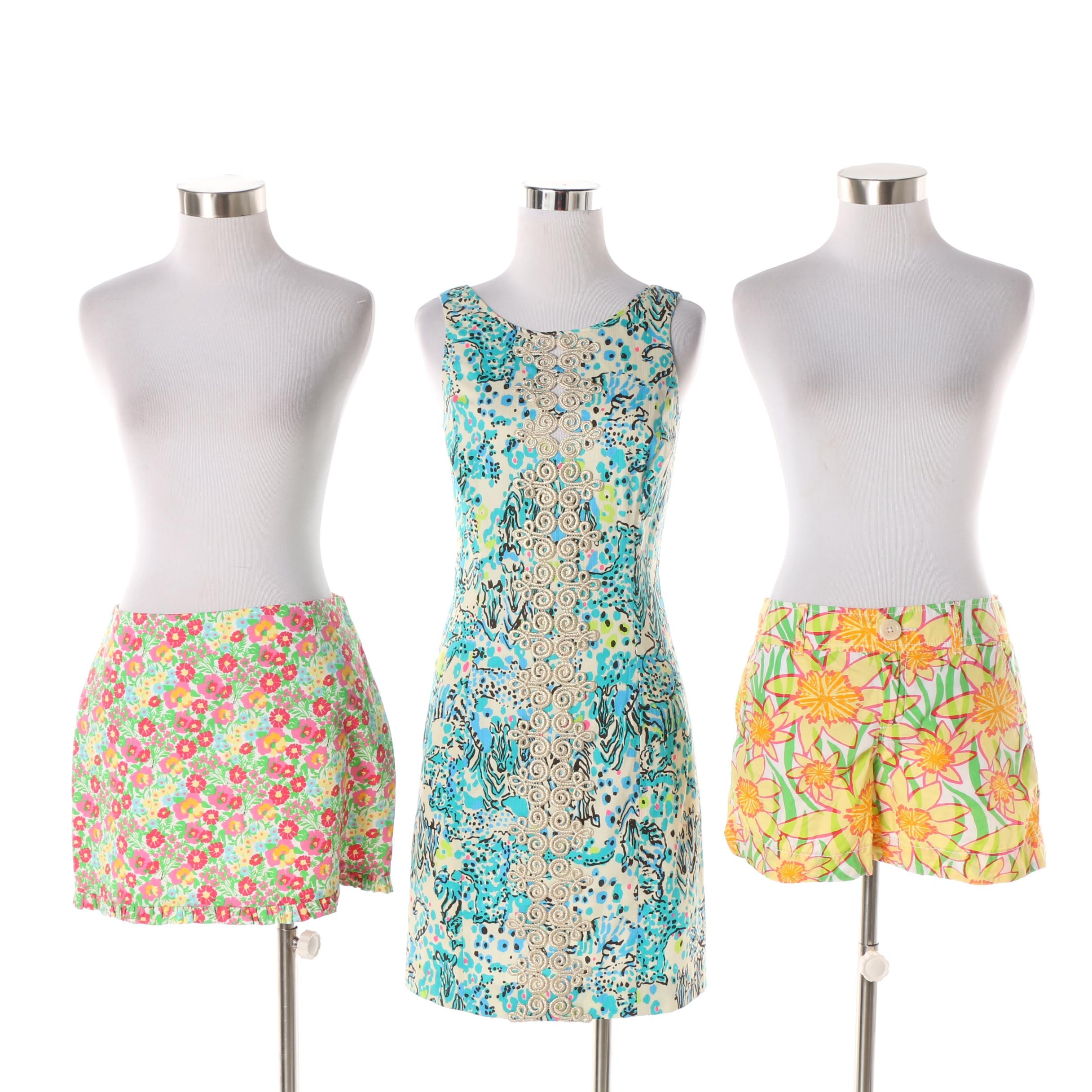Lilly Pulitzer Dress, Skirt and Shorts