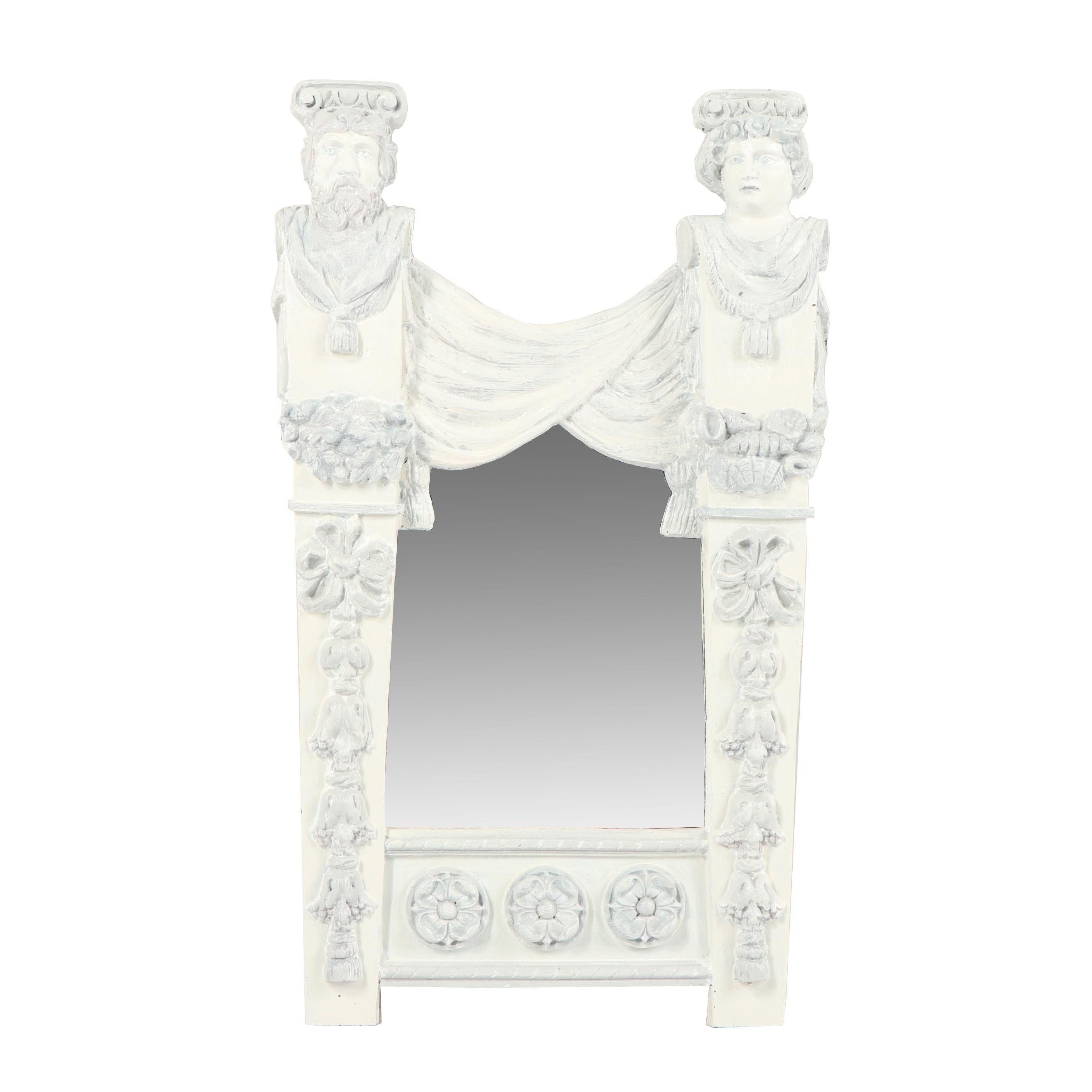 Greek Revival Style Wall Mirror