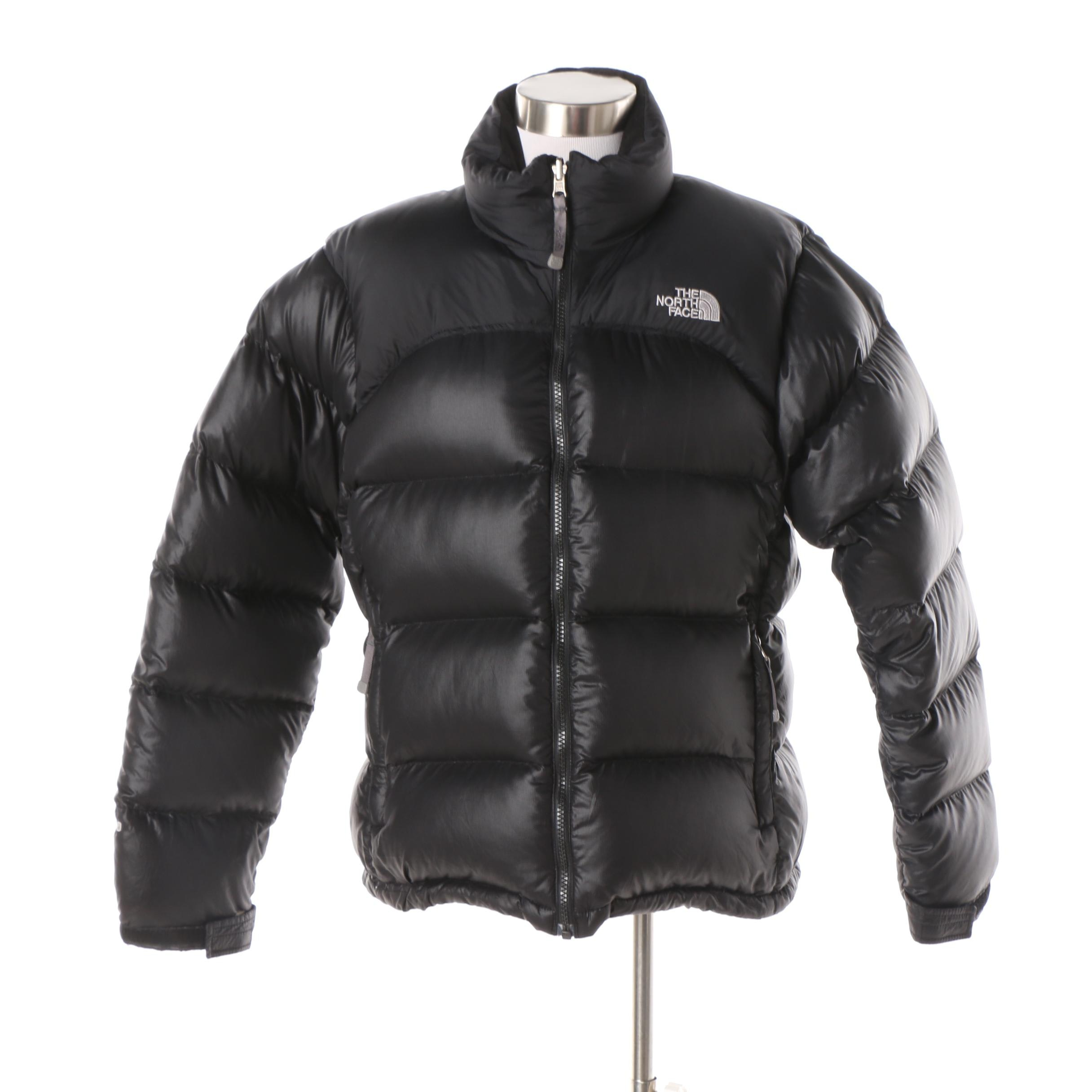Women's The North Face Black Puffer Coat
