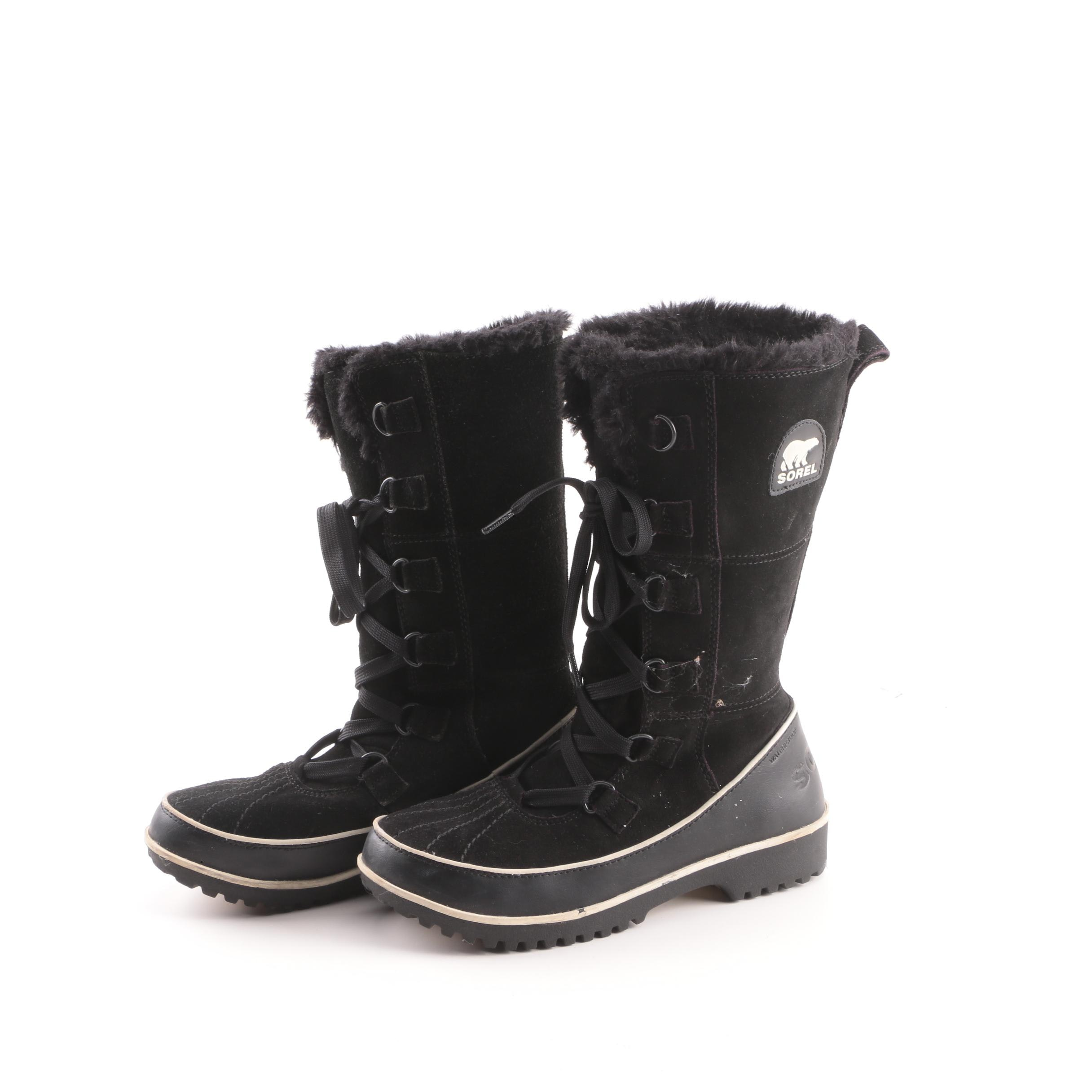 Women's Sorel Black Waterproof Winter Boots