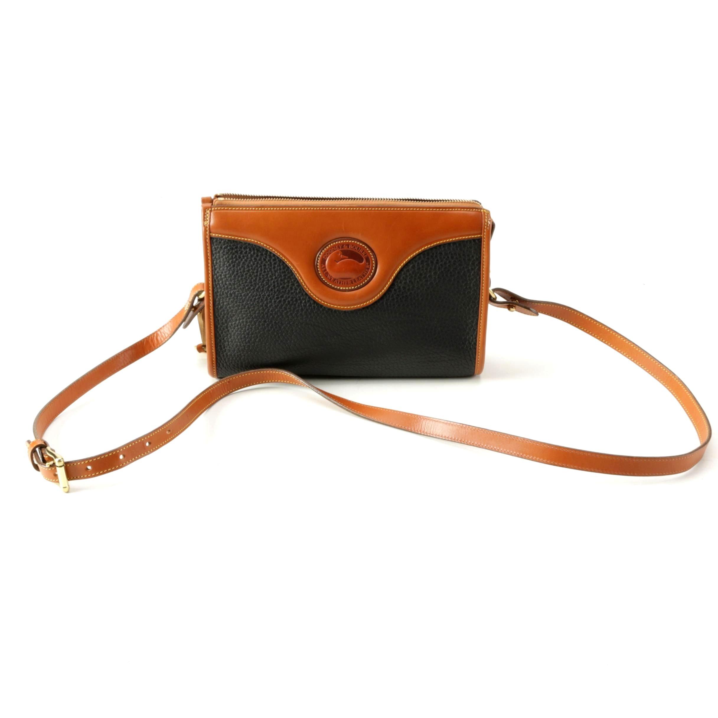 Dooney & Bourke All-Weather Leather Shoulder Bag with Adjustable Strap
