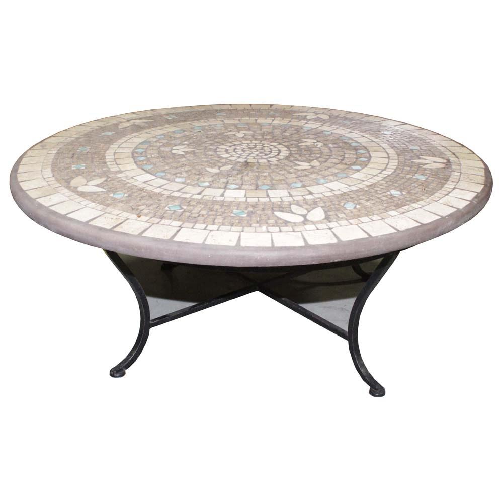 Mosaic Top Coffee Table
