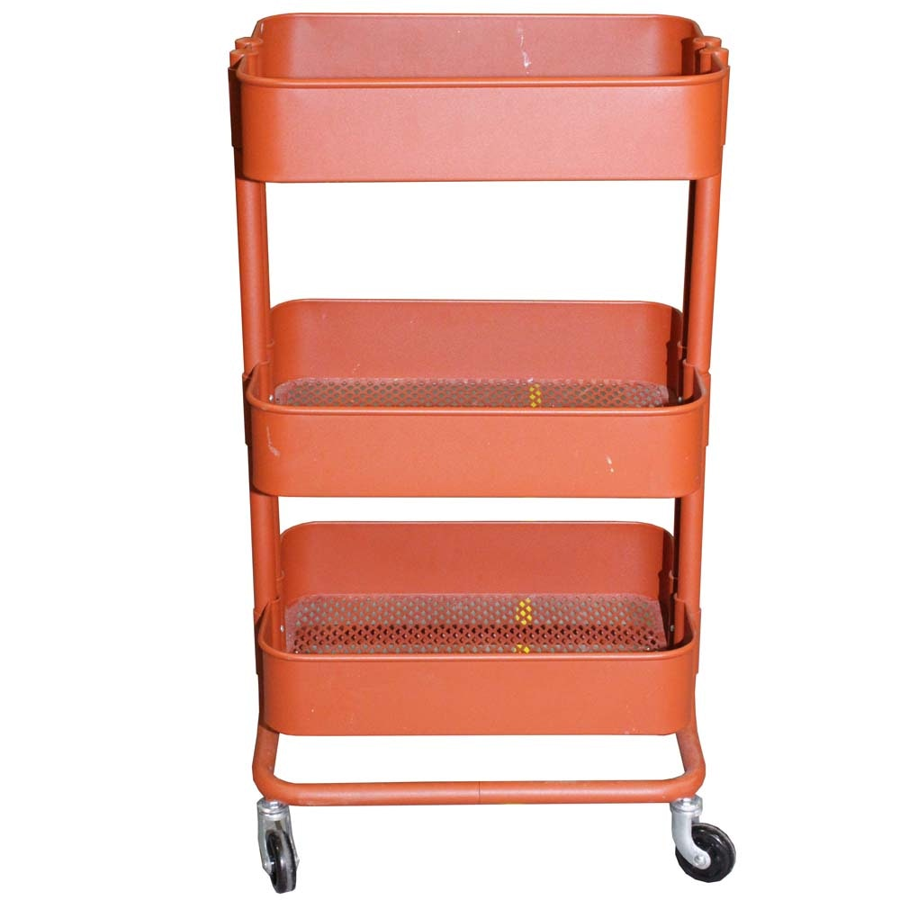 Powder Coated Rolling Cart