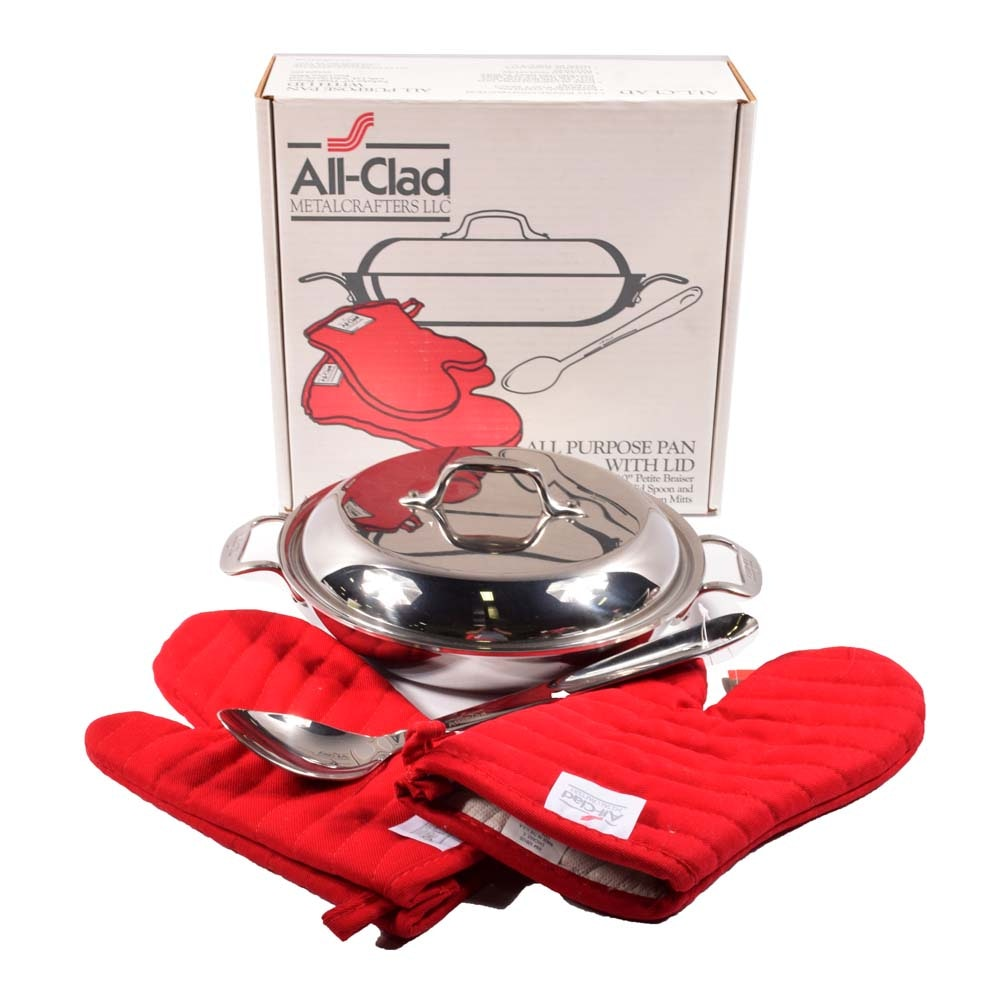 All-Clad Stainless Steel Braiser Set