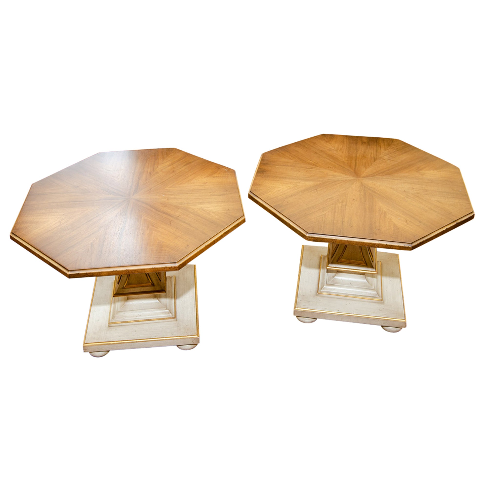 Mid Century William Berkey End Table Pair