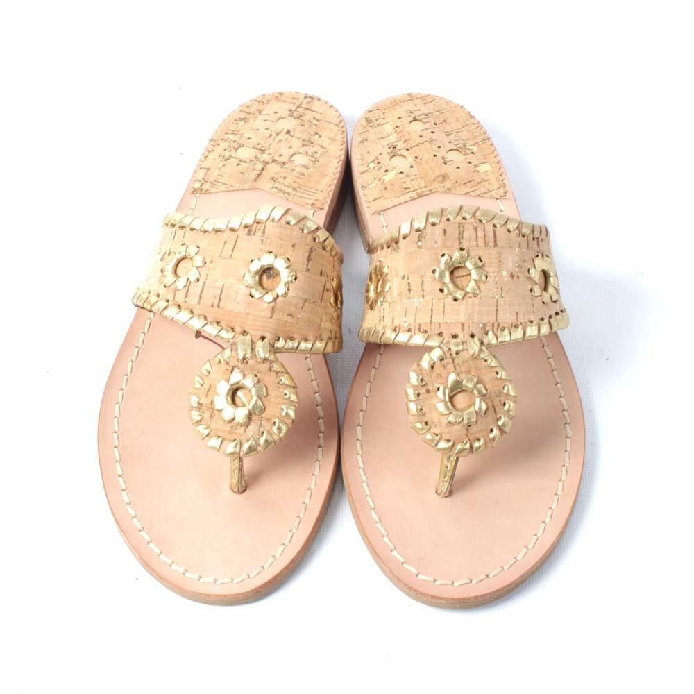 Jack Rogers Napa Valley Flat Thong Sandals