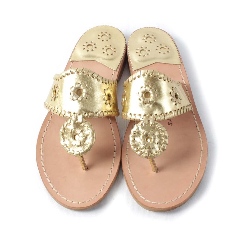 Jack Rogers Hampton Flat Thong Sandals