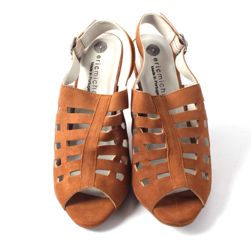 Eric Michaels Chili Suede Sandals