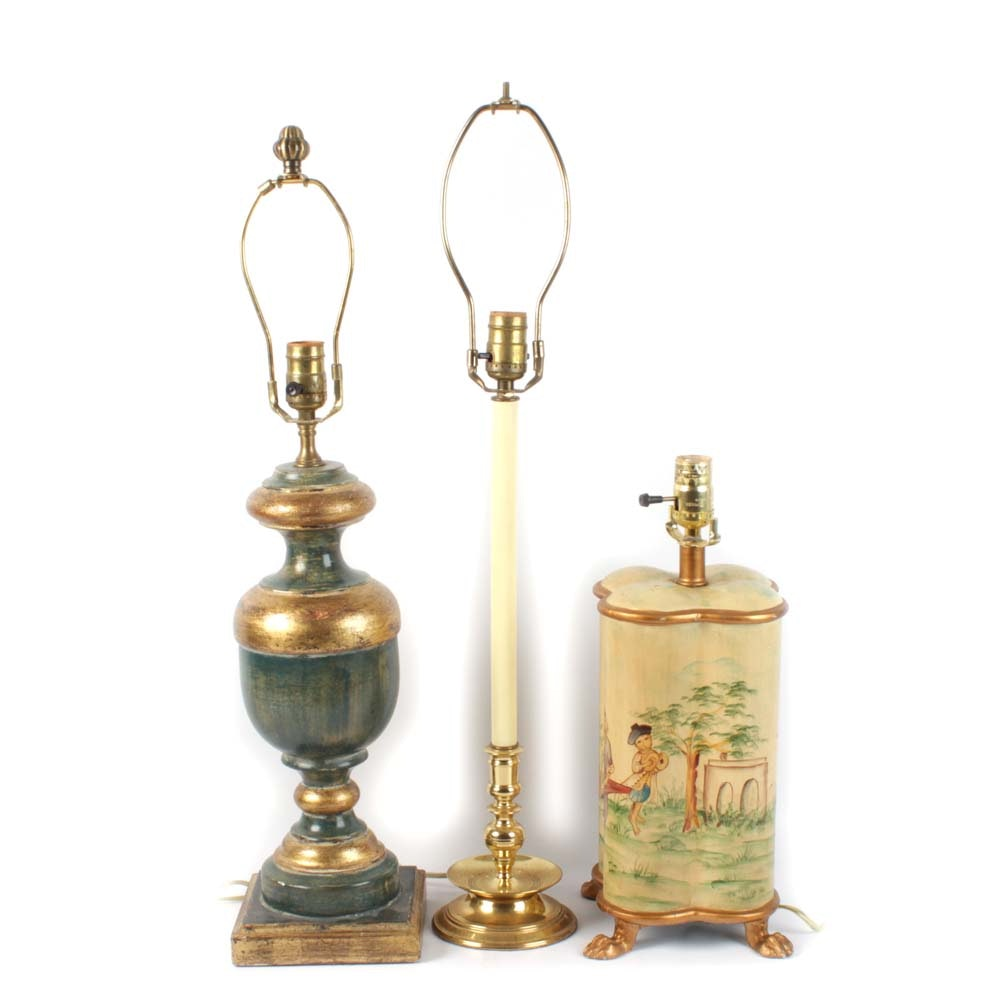 Traditional Table Lamp Assortment