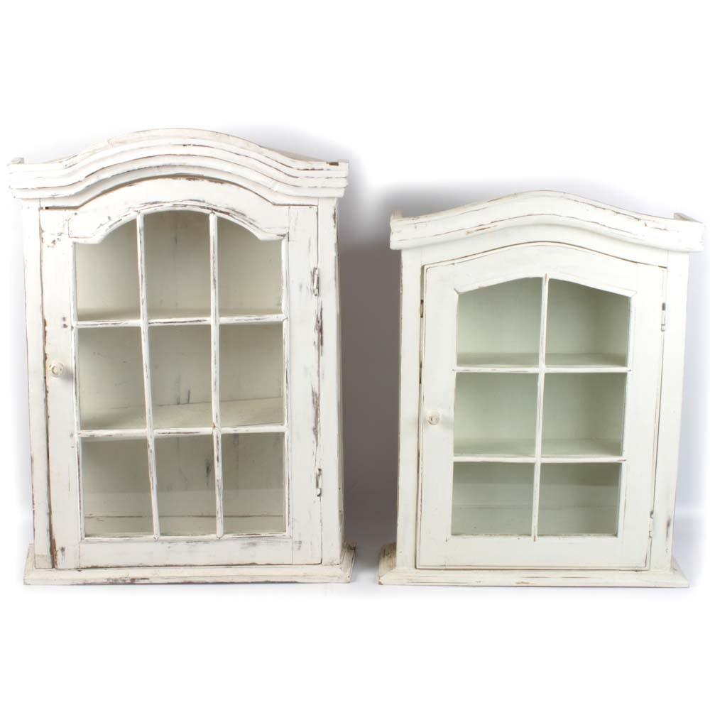 Wall Hung Curio Cabinets