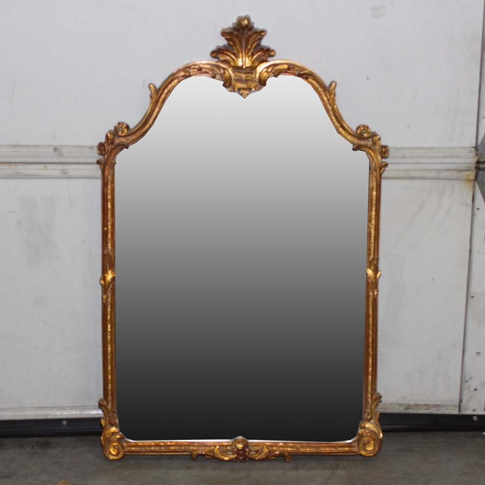 "Crown Fine Arts ""Carolina"" Gilt Mirror"