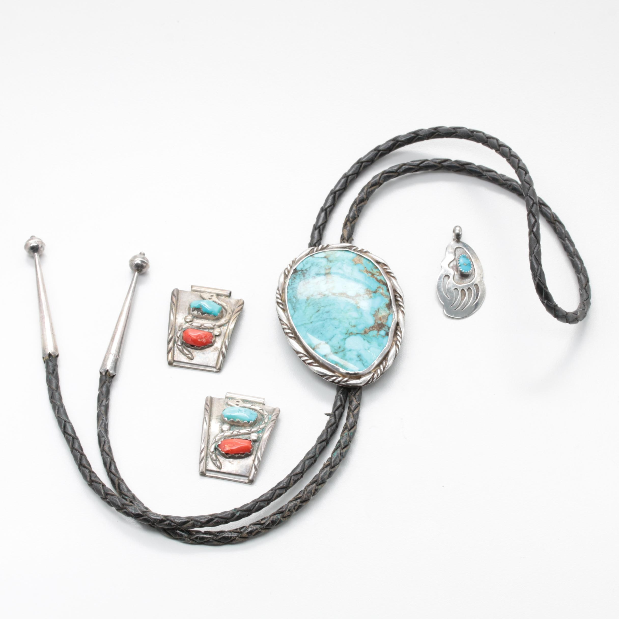 Sterling Jewelry With Native American Artisans Gilbert Damon and Marvolyne