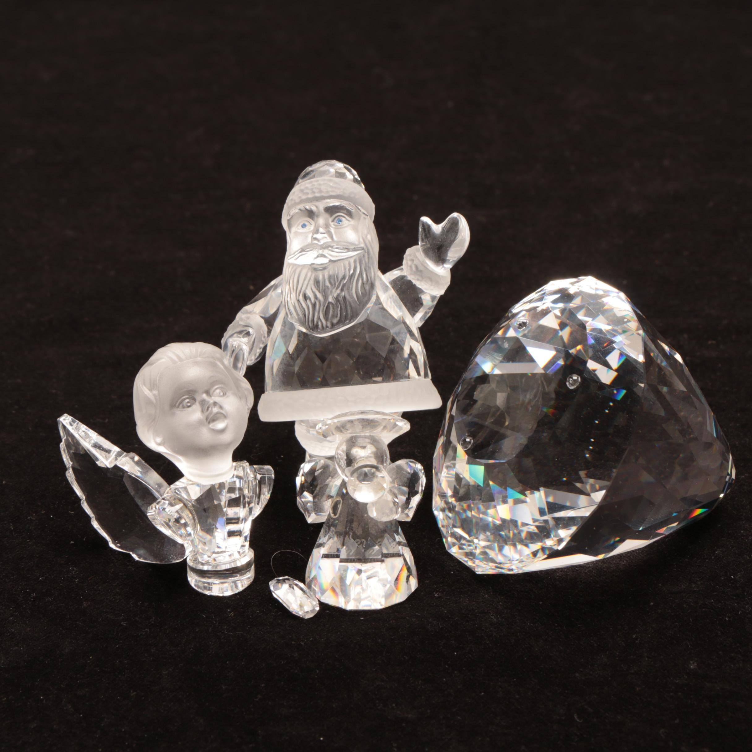 Swarovski Crystal Holiday Figurines