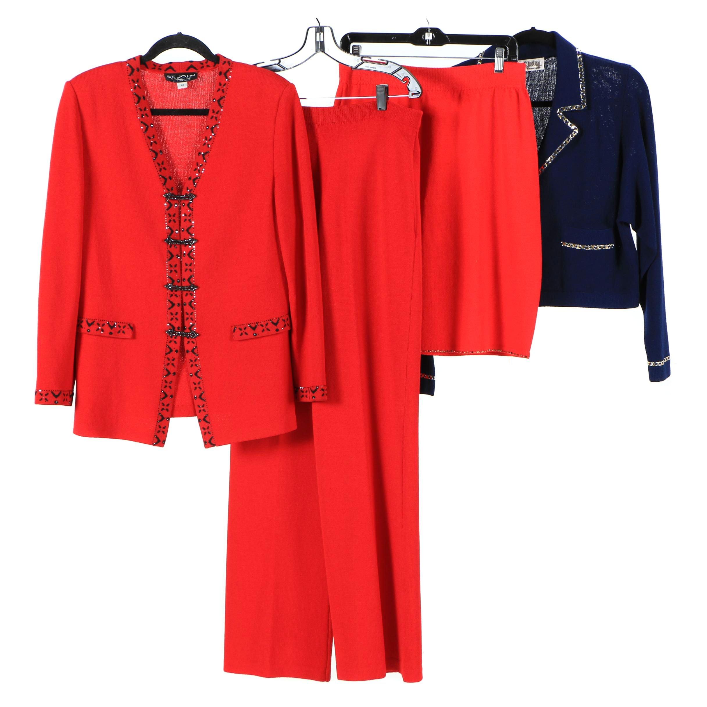 St. John Brand Knitwear