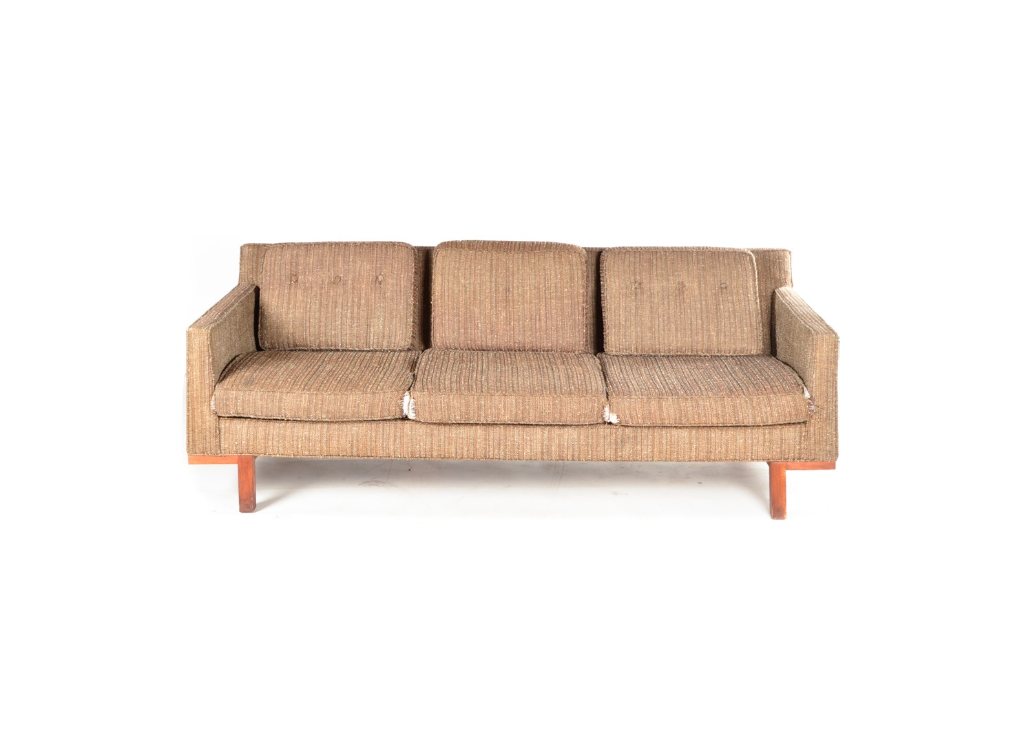 Vintage Mid Century Modern Upholstered Sofa by Marshall Field & Company