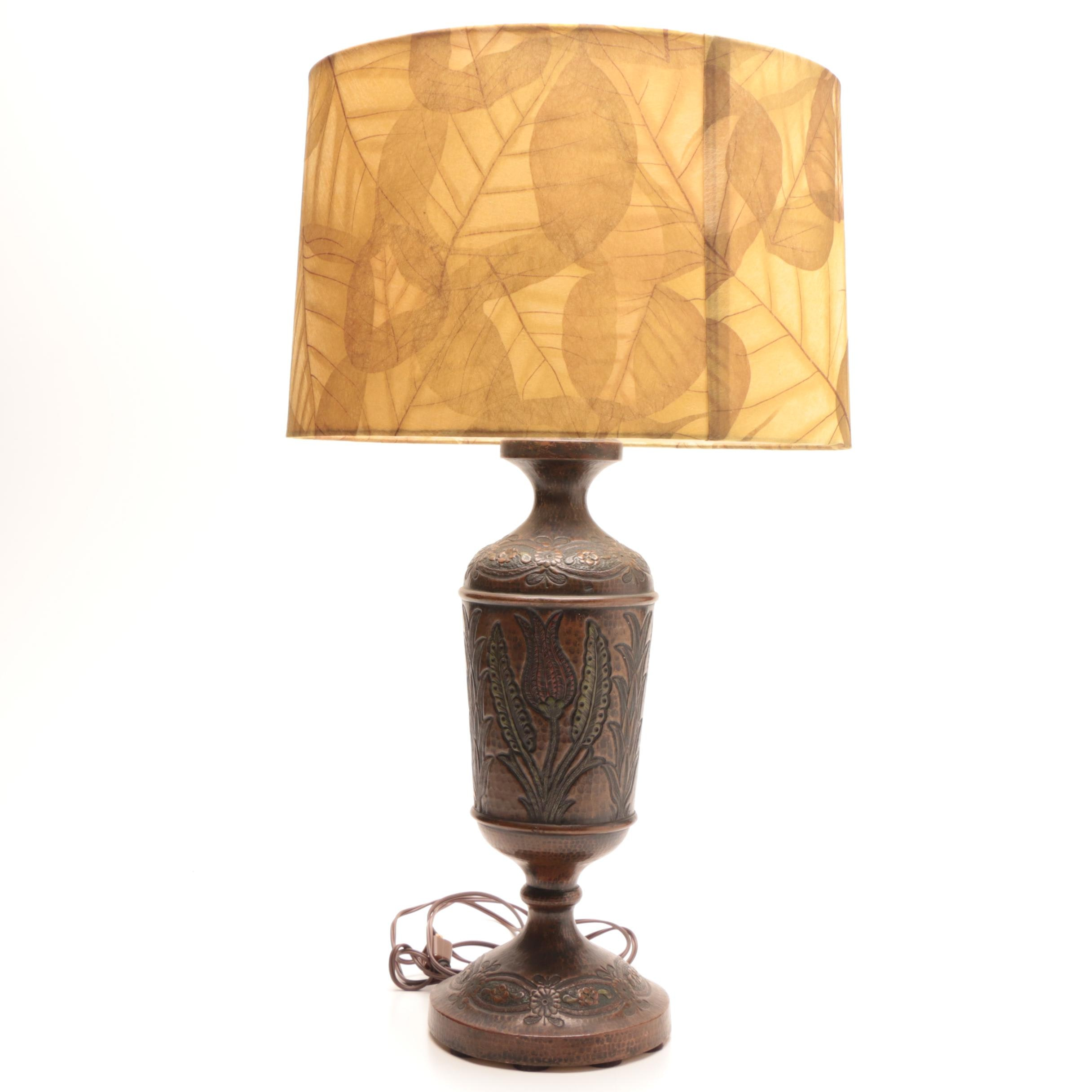 Arts and Crafts Style Table Lamp