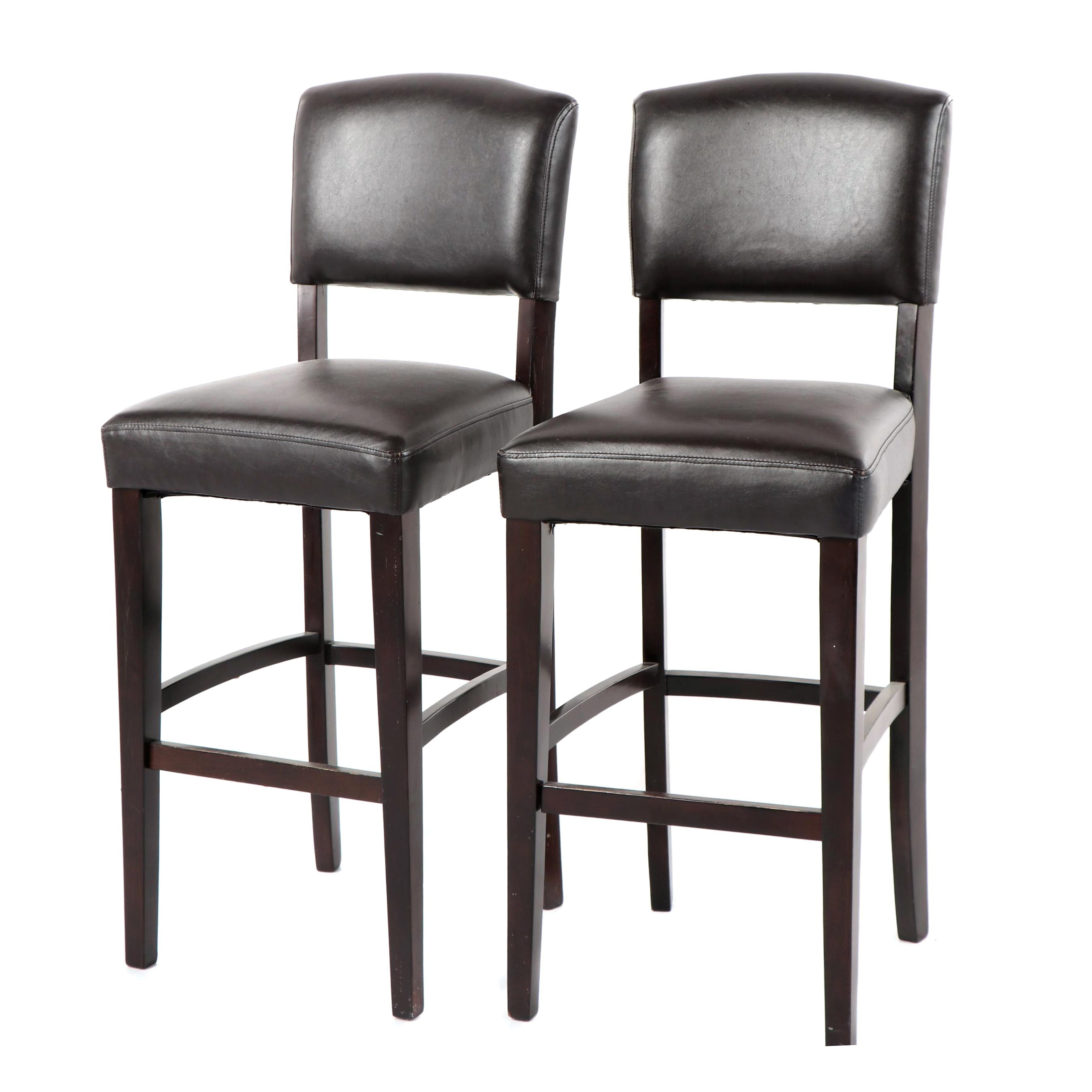 Faux Leather Barstools by Bed Bath & Beyond