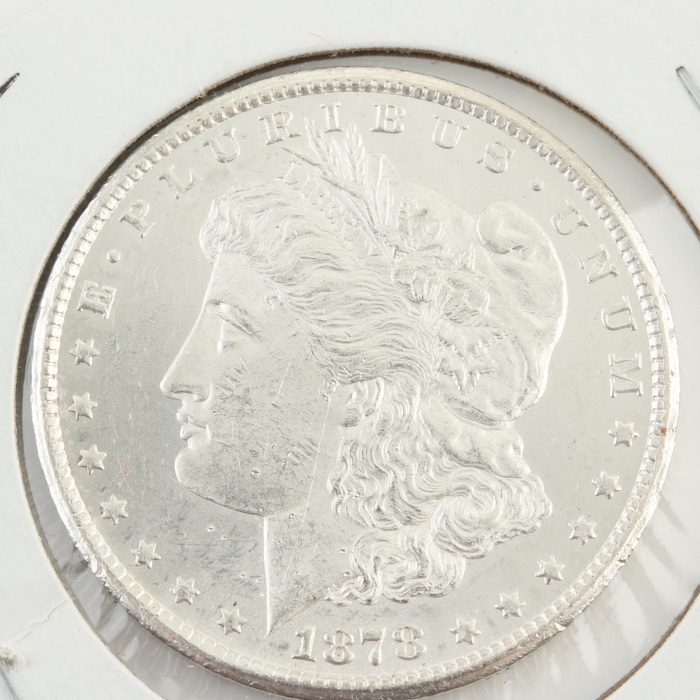 1878 Carson City Silver Morgan Dollar