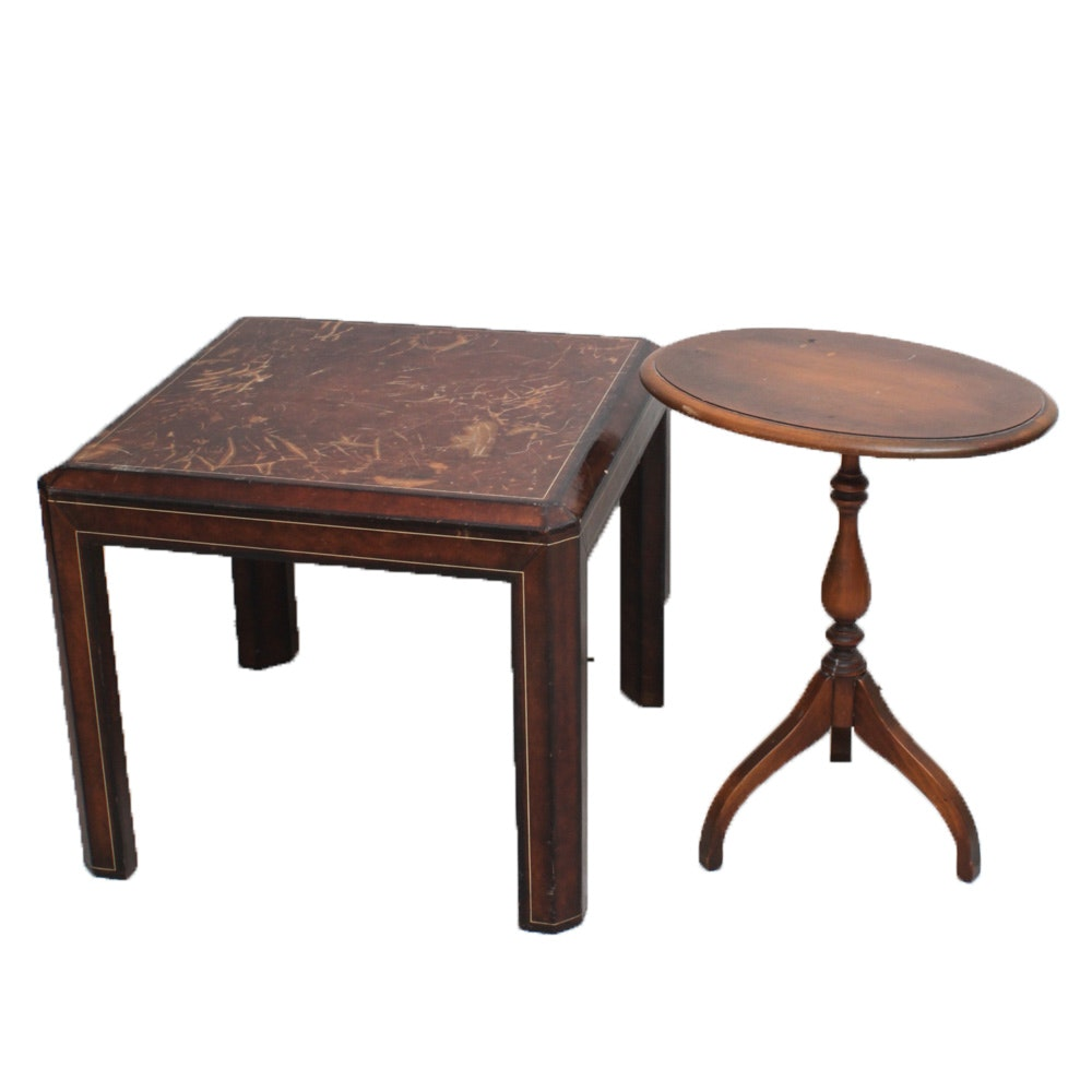 Accent Tables Featuring Maitland-Smith