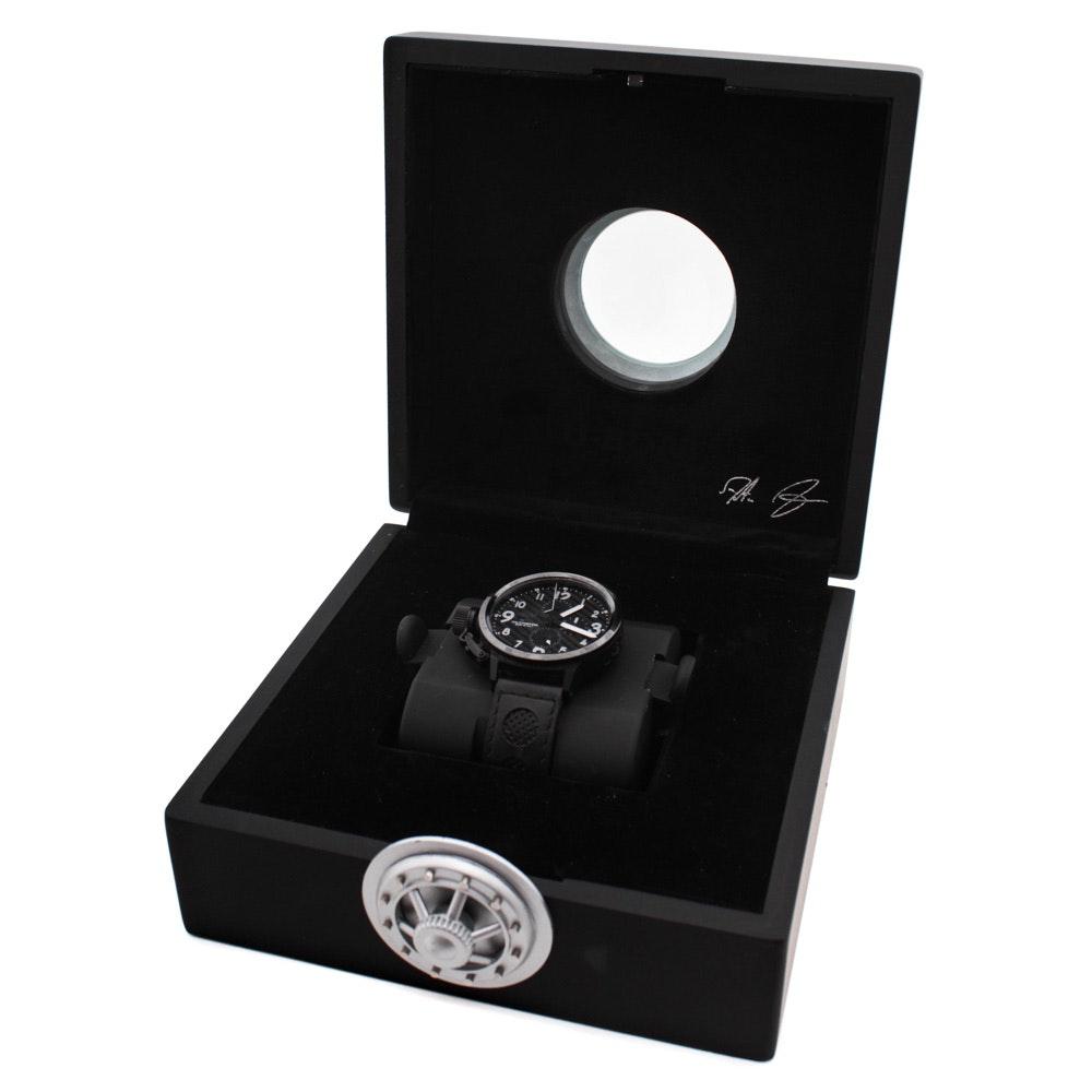 U-Boat Italo Fontana Flightdeck Chronograph Wristwatch