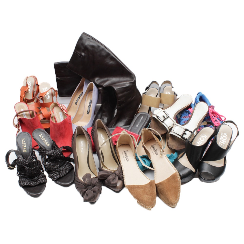 Selection of Women's Shoes Featuring Diane von Furstenberg, Burberry and More