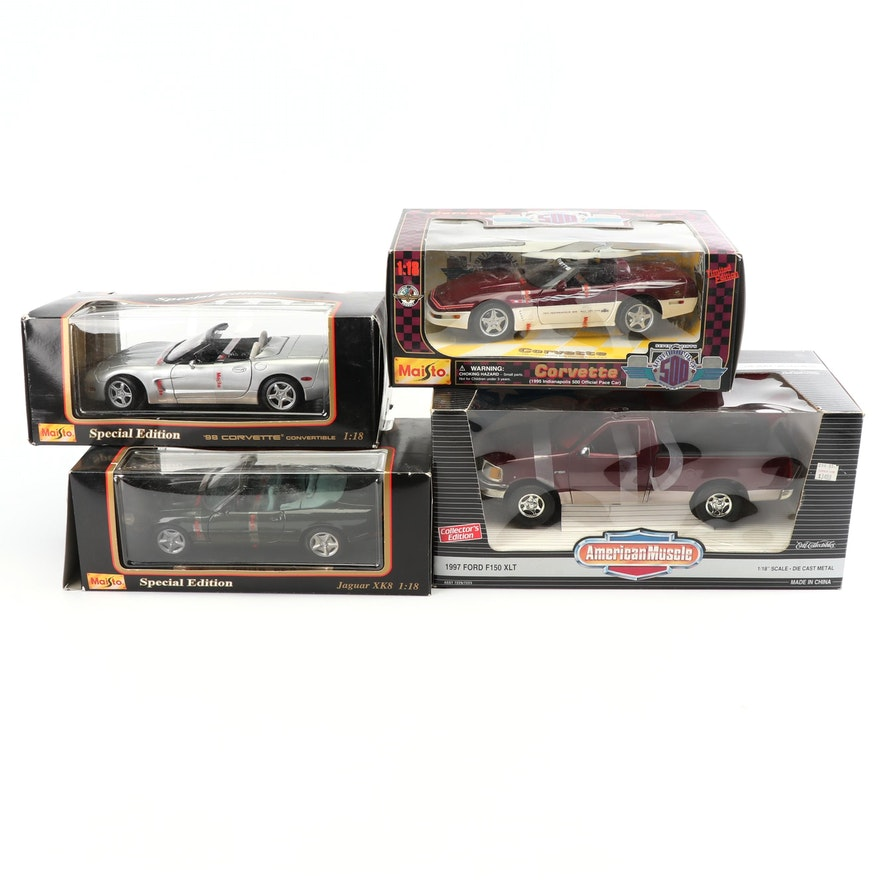 "die-cast cars including maisto and ertl ""american muscle"" : ebth"