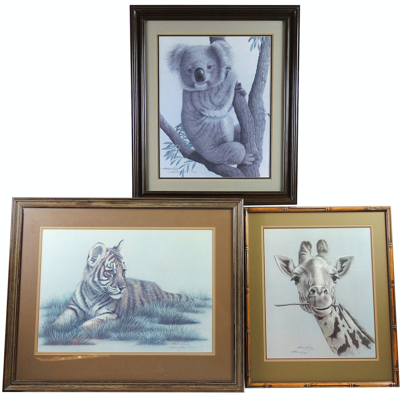 Harold Rigsby Wildlife Offset Lithographs