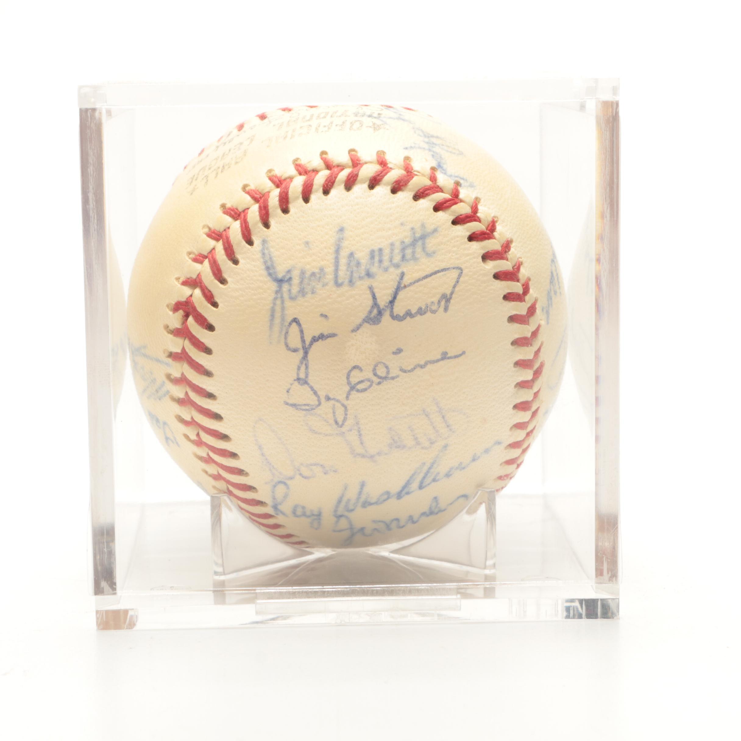 1970 Cincinnati Reds Signed National League Baseball
