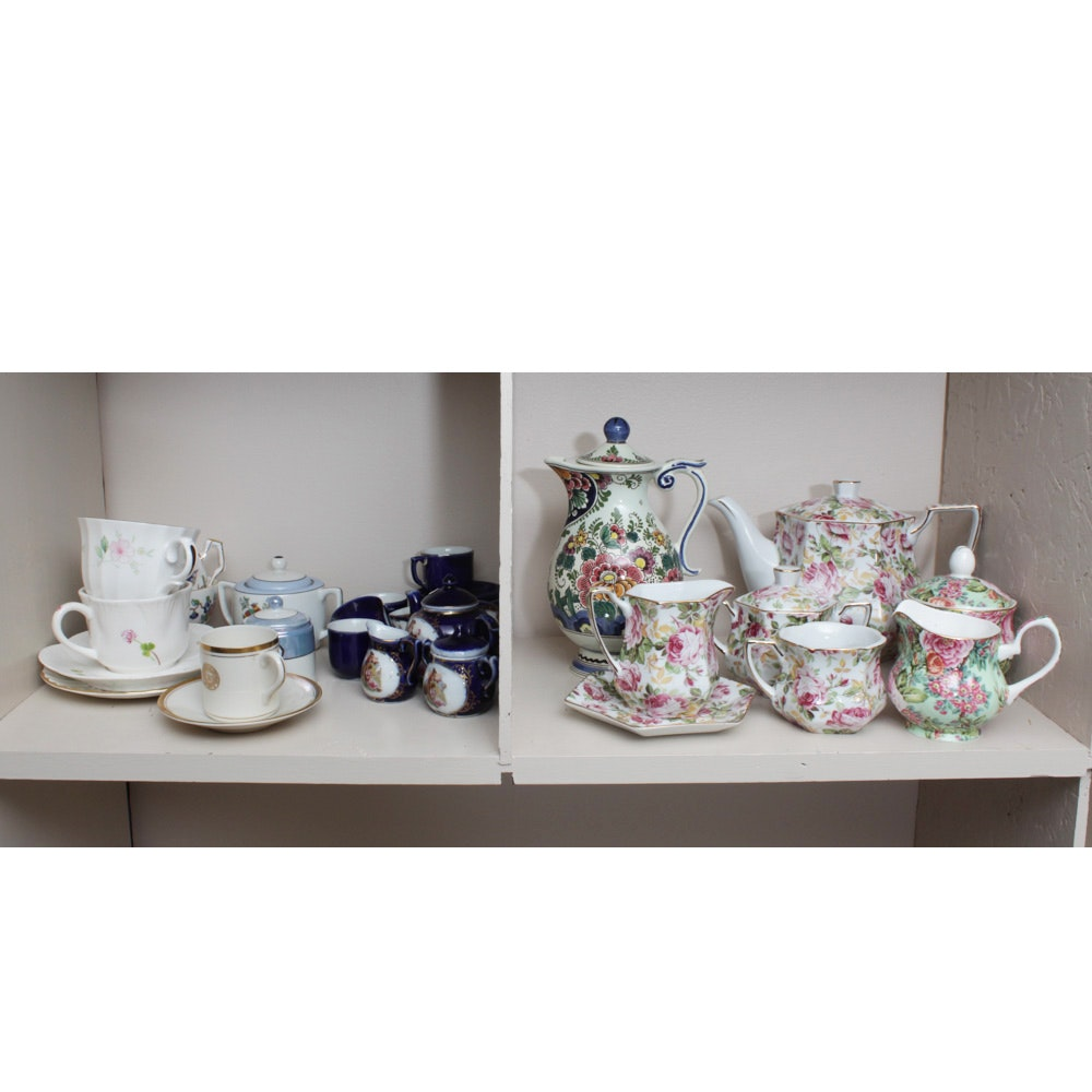 Delft With Porcelain and Ceramic Teaware