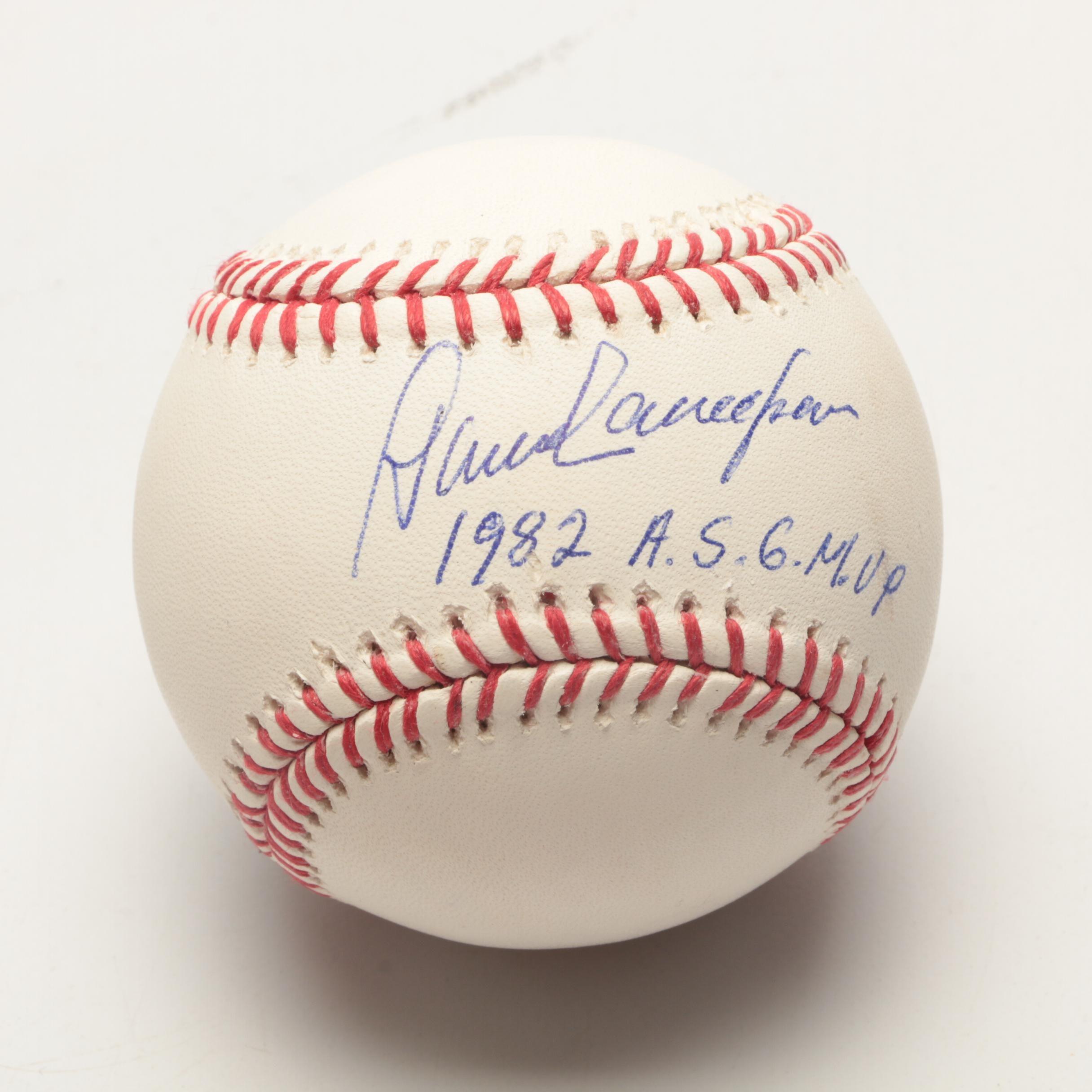 Dave Concepcion Signed Baseball  COA