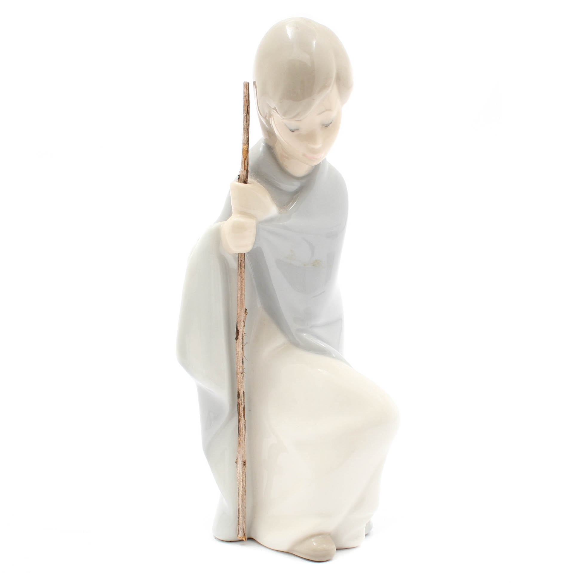 "Lladro ""St. Joseph"" Porcelain Figurine"
